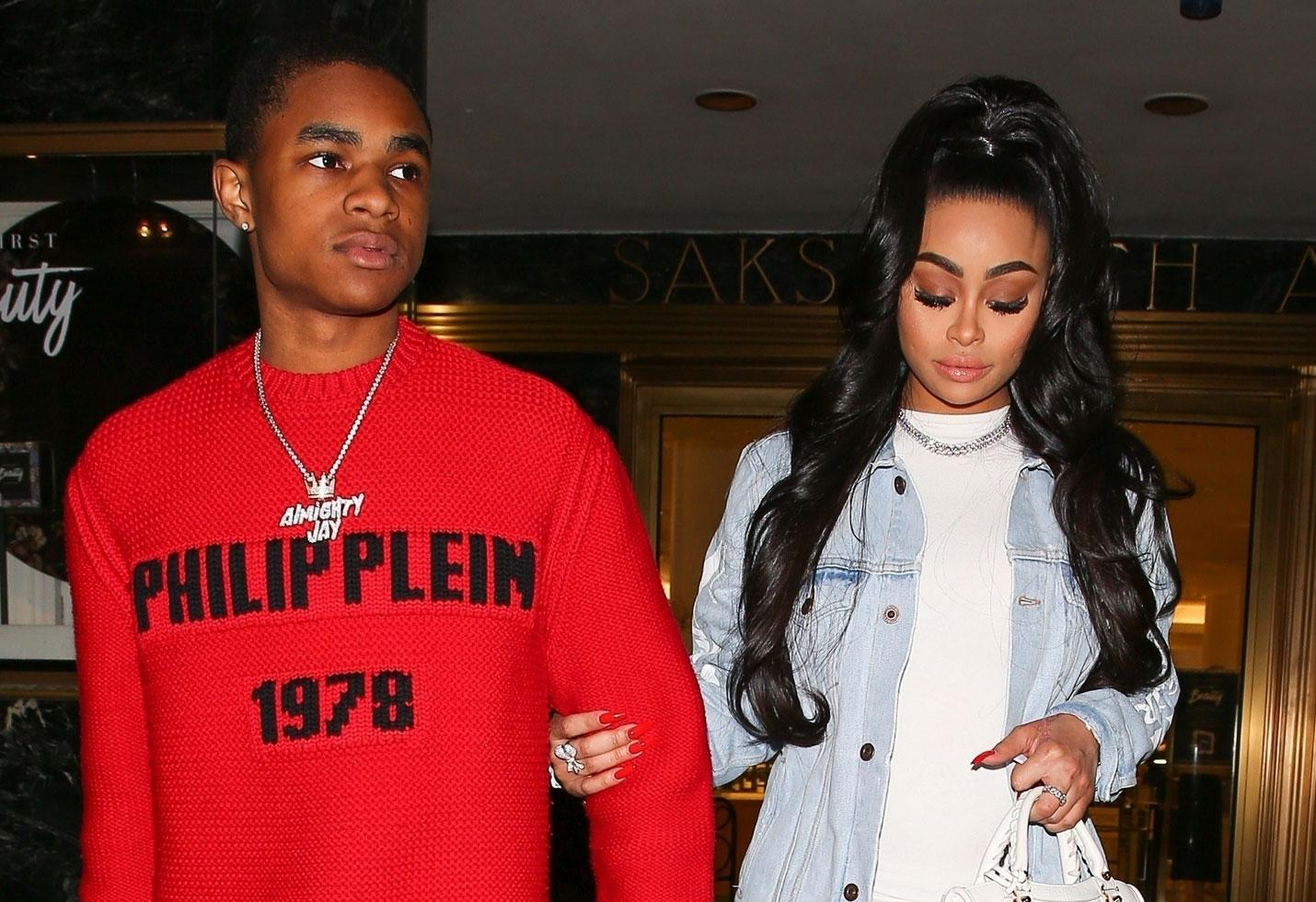 Blac Chyna And YBN Almighty Jay Reunite At The Club - See The Video