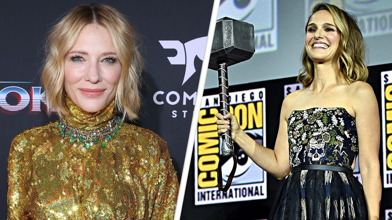 Cate Blanchett Gushes Over Natalie Portman Becoming The First Female Thor In 'Love And Thunder'