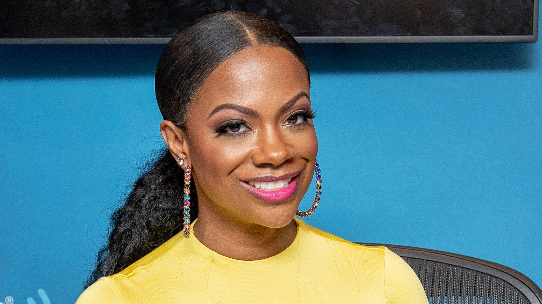 Kandi Burruss Advertises A Weight Loss Product And Tells Her Fans That She's Not Playing With Fake Diets