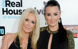 Kim And Kyle Richards Reportedly Not On Speaking Terms After Fight Over Kim's Health And Hospital Trip