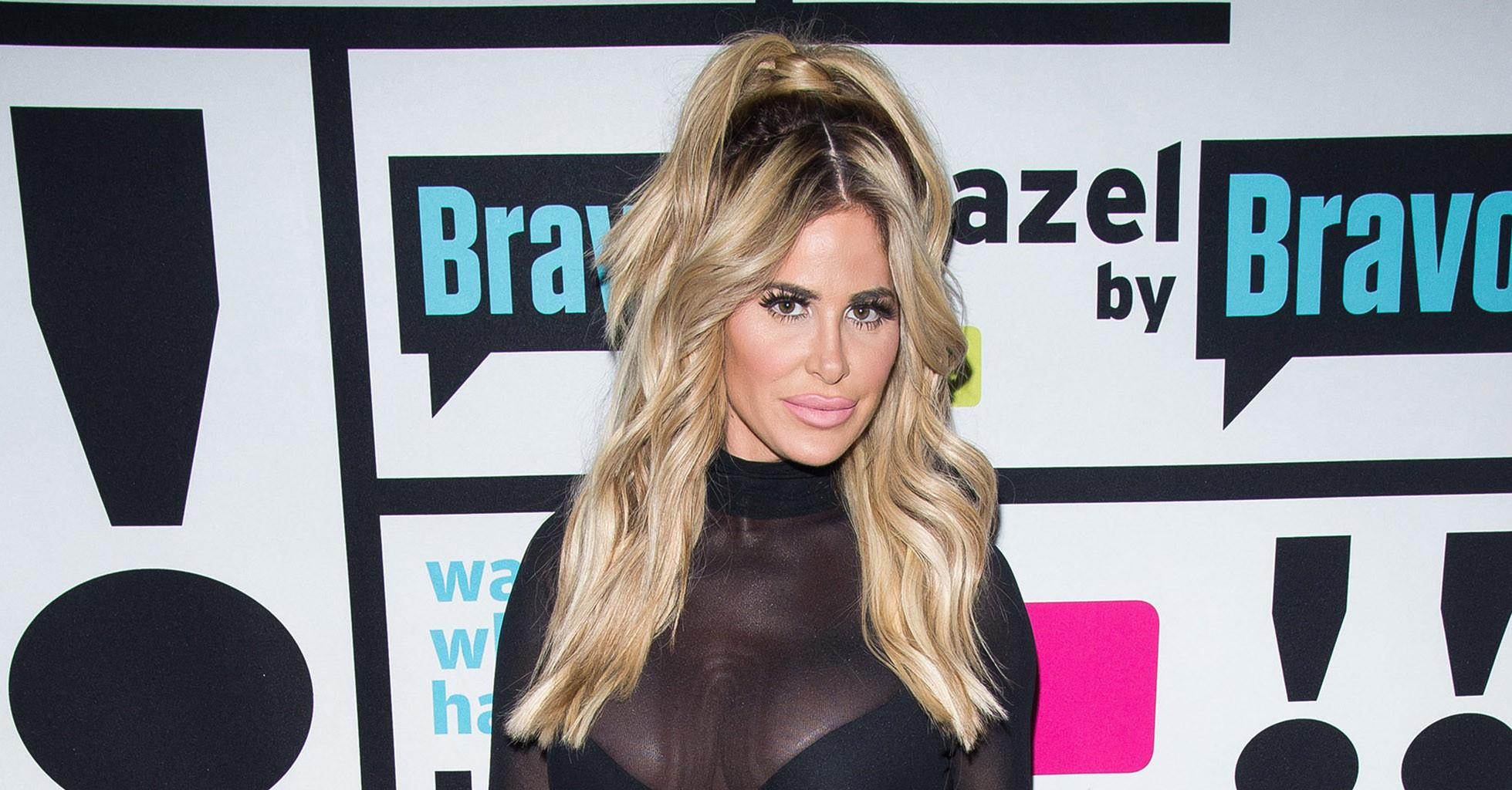 Kim Zolciak Looks Youthful And Stunning In Barely There Swimsuit While On Vacation