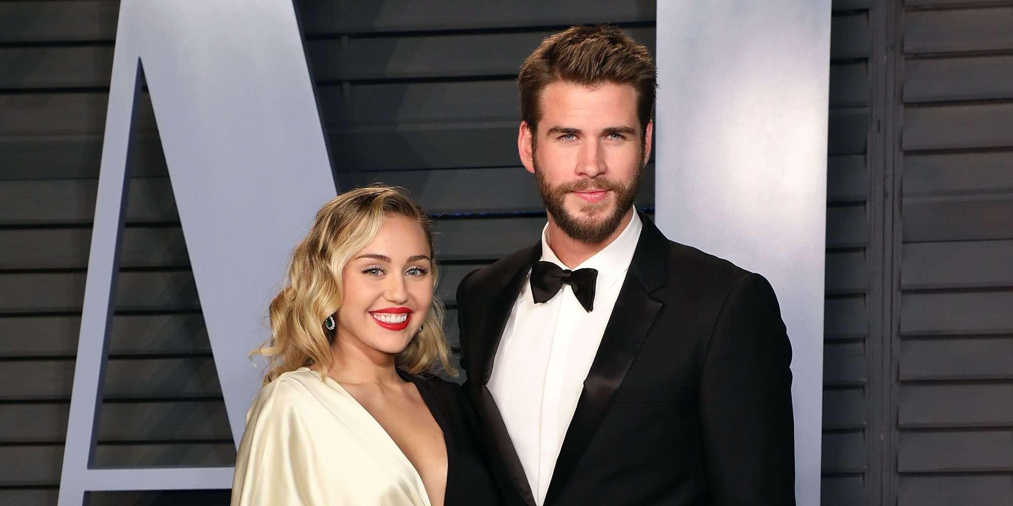 Miley Cyrus Shows Off Brand New Tattoo At The VMAs And It's Seemingly About Liam!