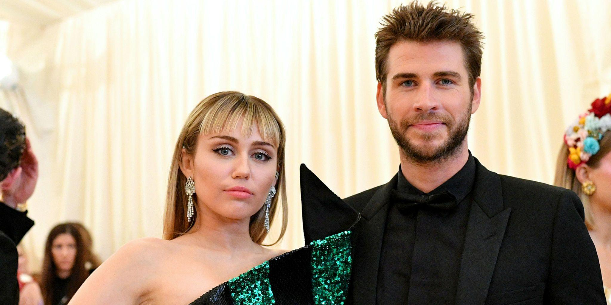 Miley Cyrus And Liam Hemsworth - Conflicting Insider Reports Claim Either His 'Drug Use' Or Her Infidelity Caused Their Split