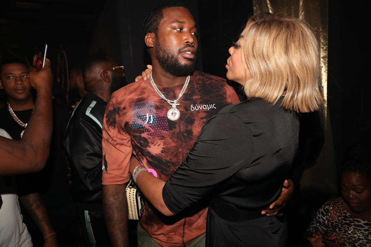 Wendy Williams Addresses Those Meek Mill Romance Rumors After The Pics Of Them Kissing Surfaced