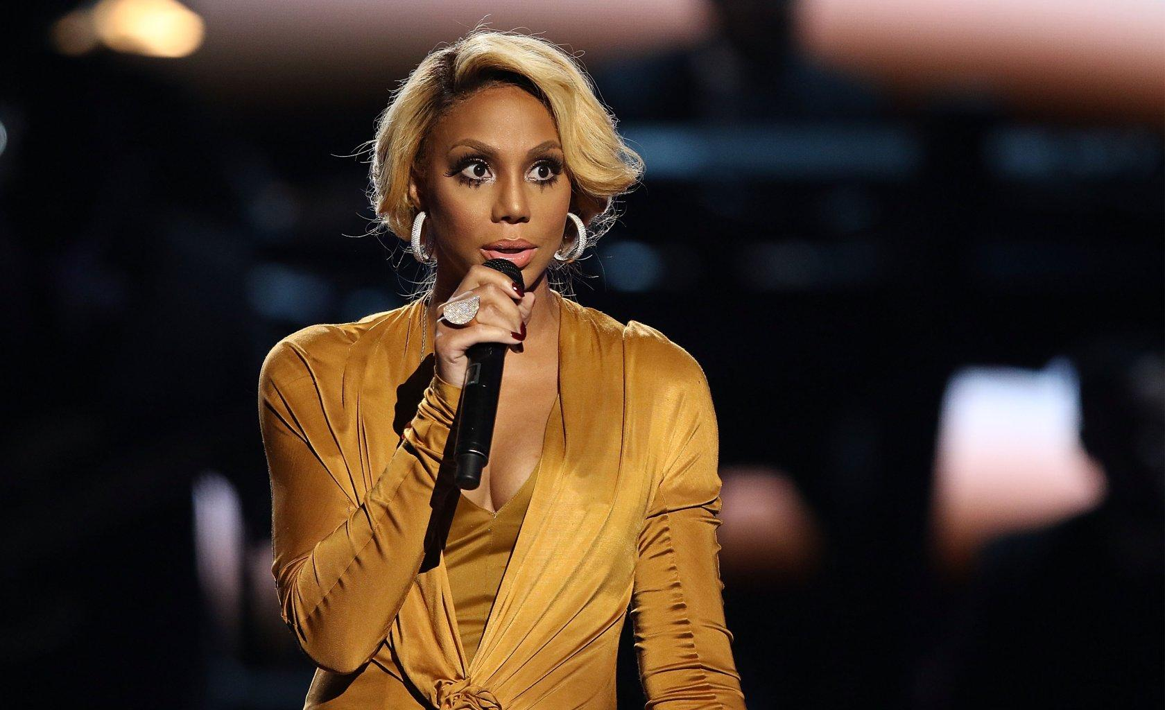 Tamar Braxton Has The Most Emotional Message For LaShawn Daniels And Tiny Harris Supports Her