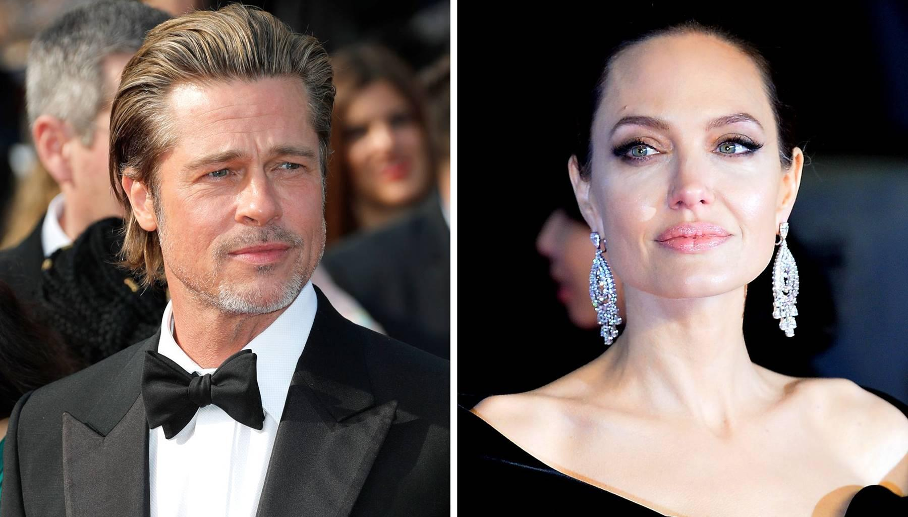Angelina Jolie's Relationship With Brad Pitt Reportedly Deteriorating Again Because Of The Kardashians
