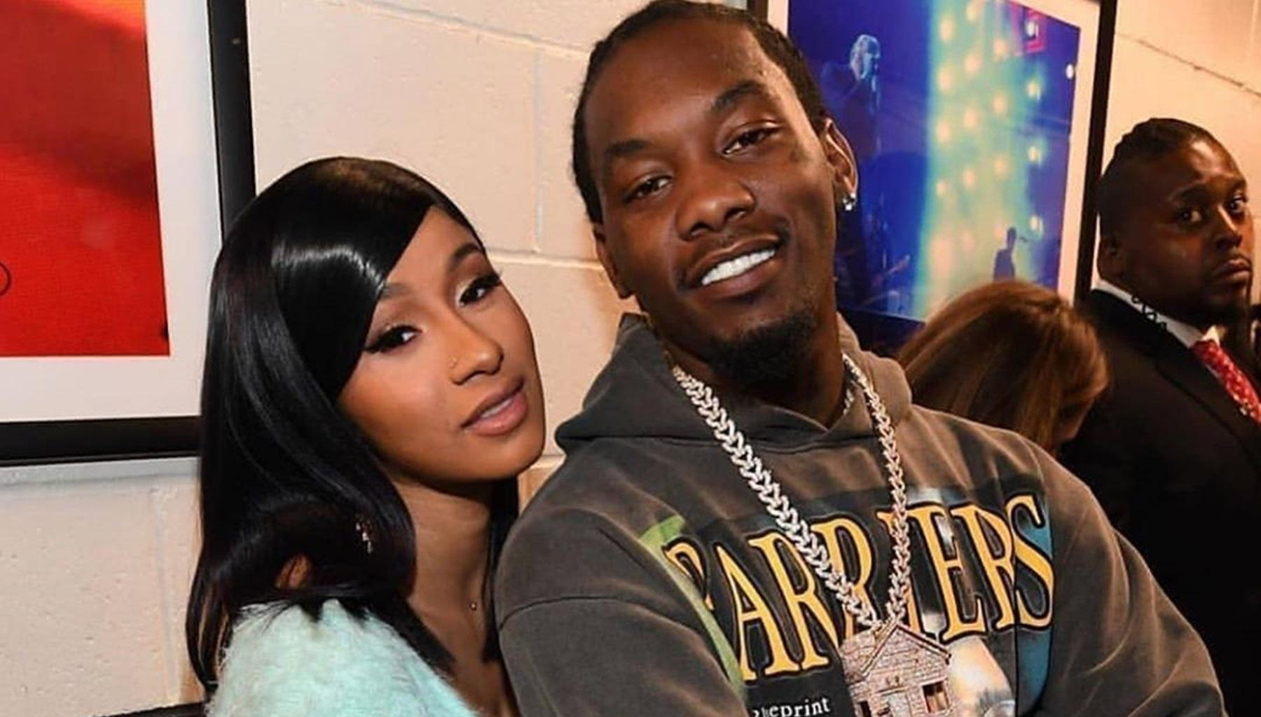 Offset And Cardi B Share Photos From Anniversary Celebration -- Are They Planning On A Big Wedding?