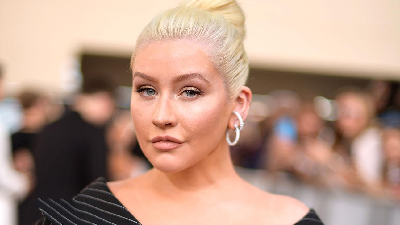 Christina Aguilera Posts Cute And Funny Video Of Her Son Max And Their Pups Backstage At Her Residency
