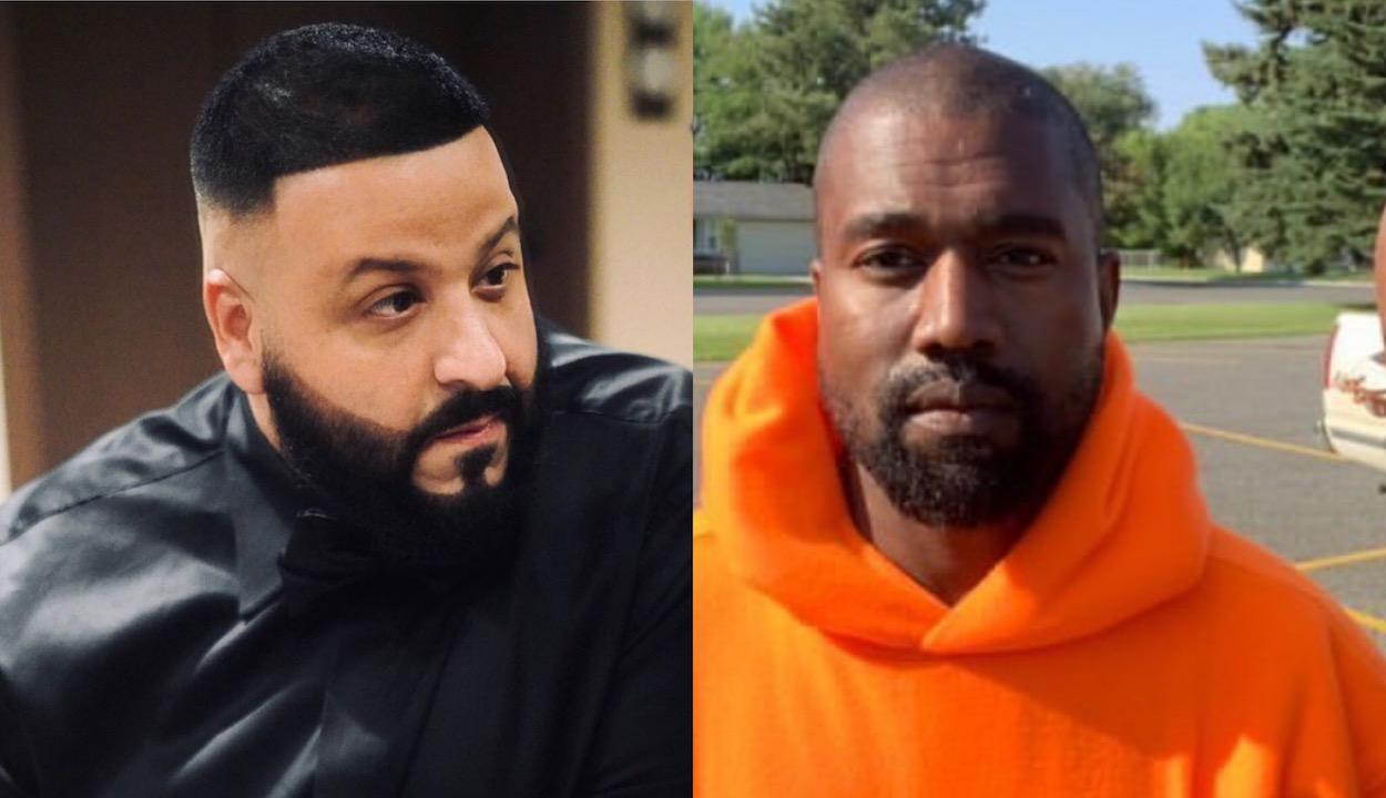 Kanye West Gifts DJ Khaled A Pair Of Unreleased Yeezys