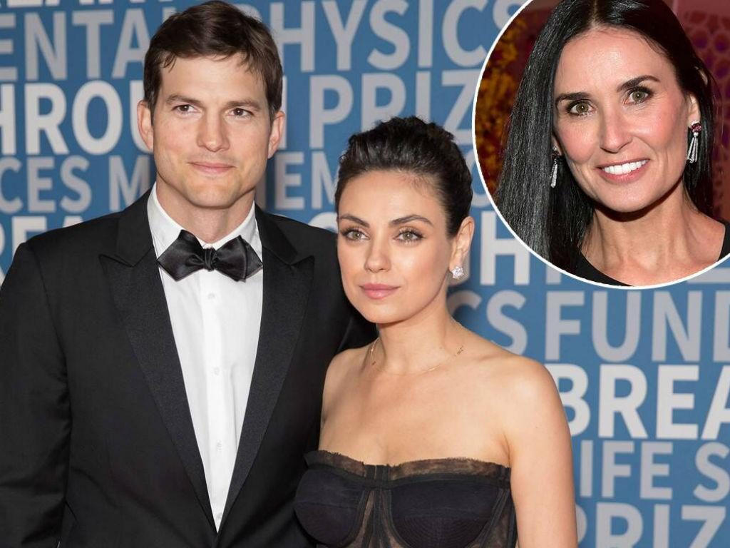 Ashton Kutcher Dishes Weekly Date Nights With Mila Kunis After Demi Moore Book Paints Actor In A Bad Light