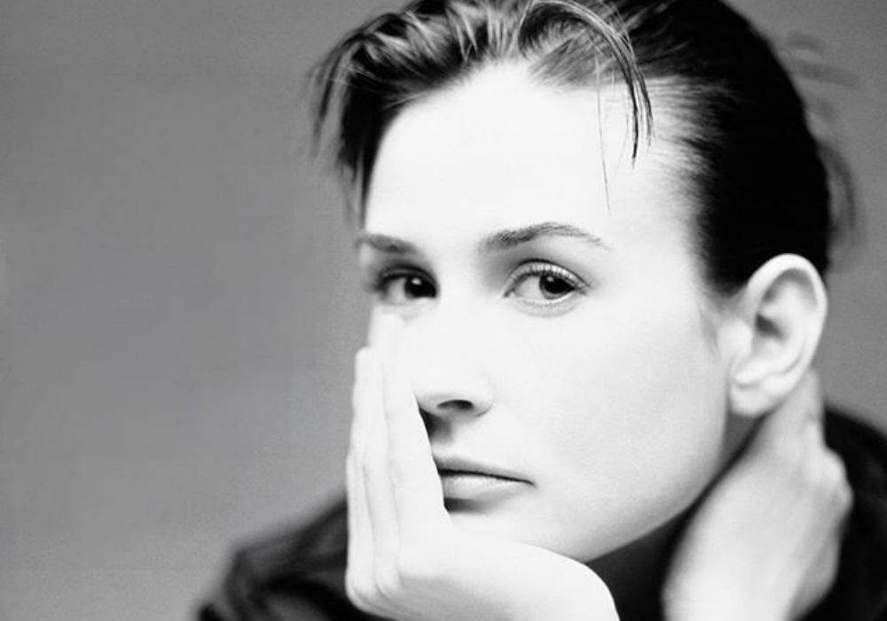 Demi Moore, 56, Poses Naked On Harpers Bazaar - How She