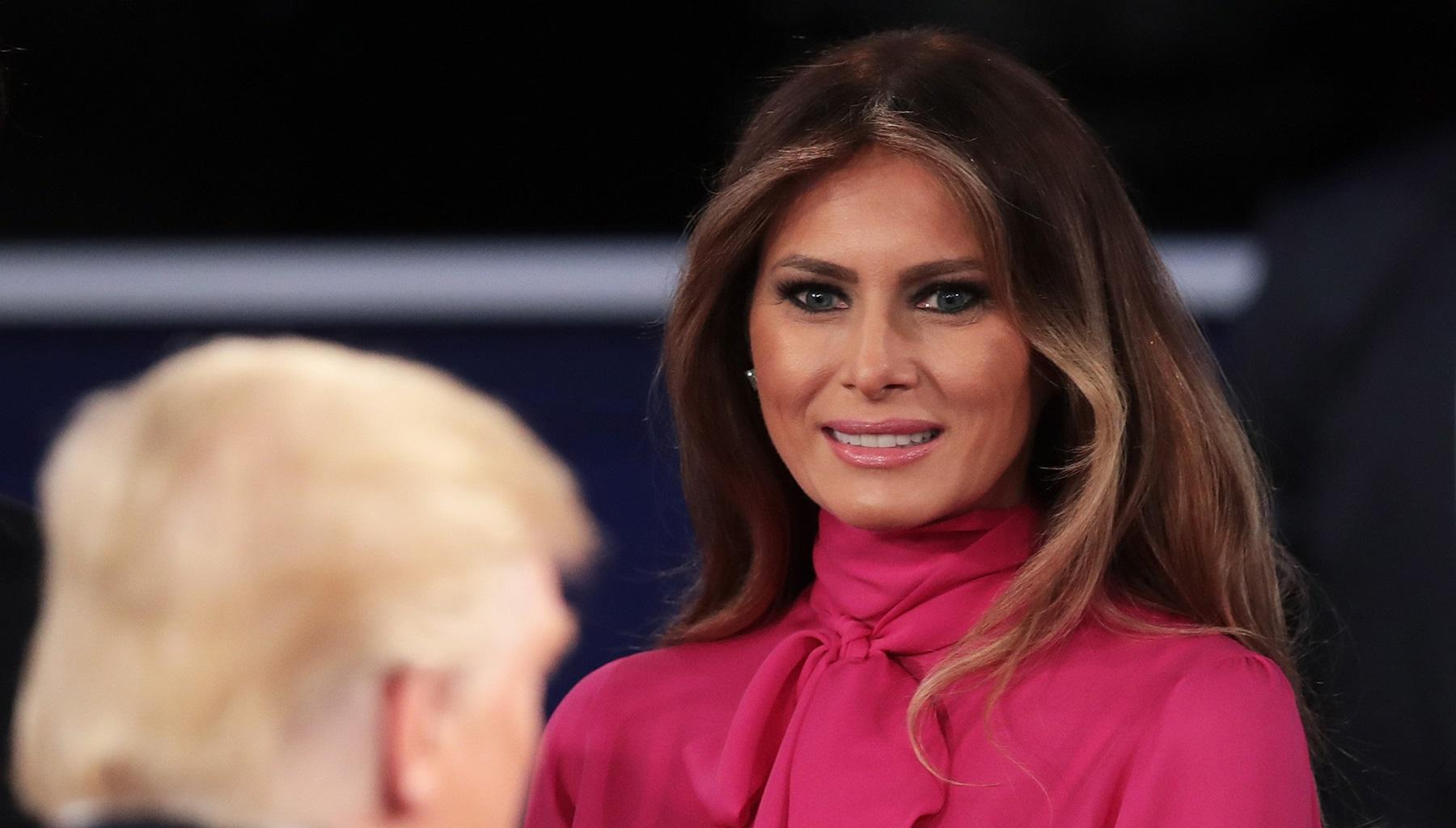 Melania Trump Makes Bold Fashion Statement In New Photos, Even President Donald Trump Was Impressed