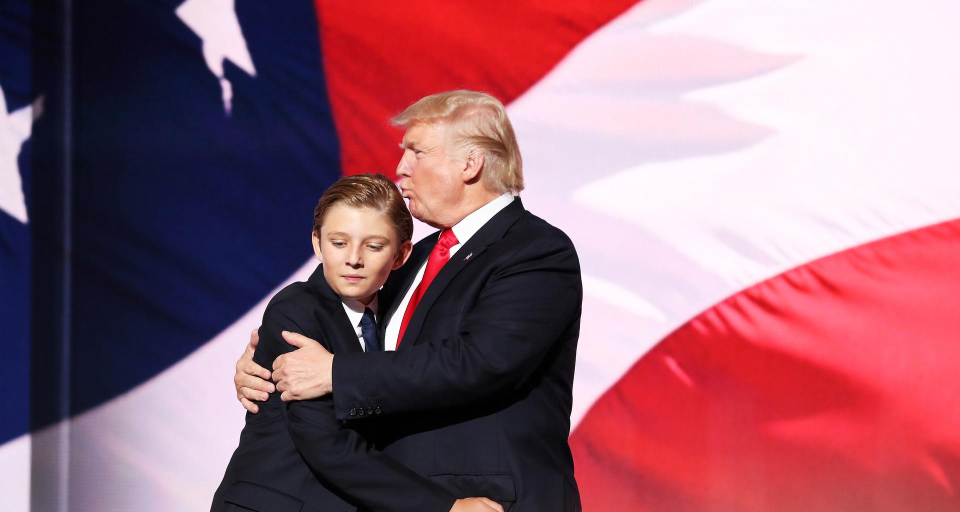 Donald Trump Trolled Online After Seemingly Forgetting Barron, 13, Is His Son In Viral Video!