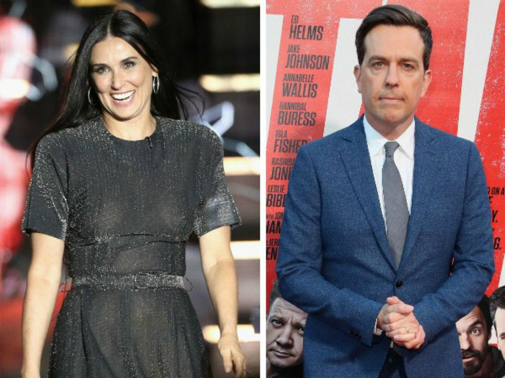 Ed Helms' Wife Had The Best Reaction To Demi Moore Affair Rumors