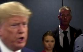 Greta Thunberg Lays Into World Leaders As Photo Of Her Glaring At President Donald Trump Goes Viral