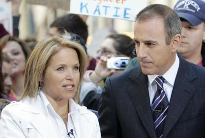 Matt Lauer Is Reportedly Freaking Out Over Katie Couric Tell-All Book – Here's Why
