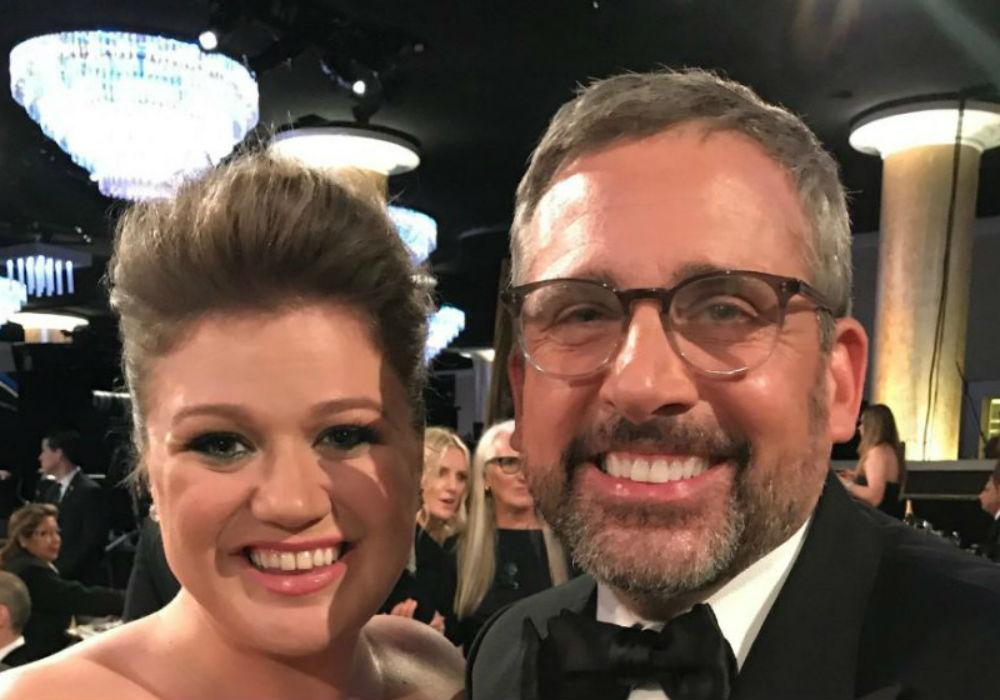 Kelly Clarkson Launched Her Talk Show In The Most Epic Way With Help From Steve Carell