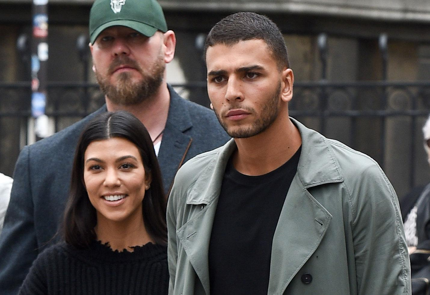 KUWK: Kourtney Kardashian And Younes Bendjima Back Together? - They Were Photographed Holding Hands During L.A. Date!
