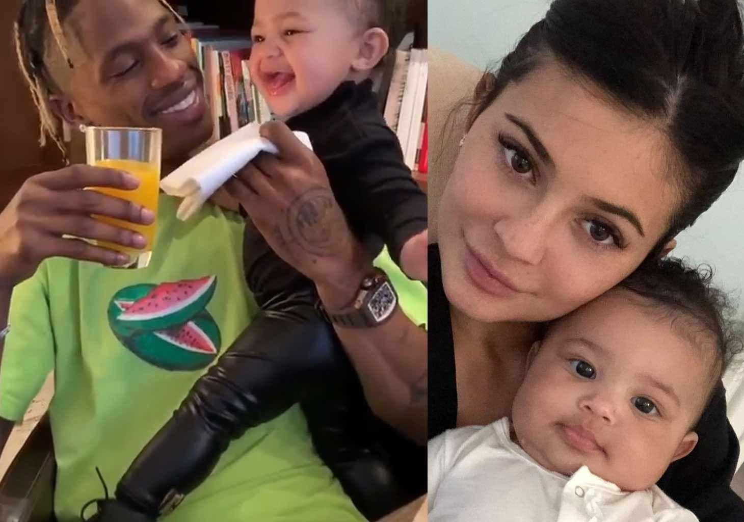 KUWK: Kylie Jenner Thinks Daughter Stormi Is The 'Perfect Mixture' Between Her And Travis Scott But Kris Jenner Disagrees!