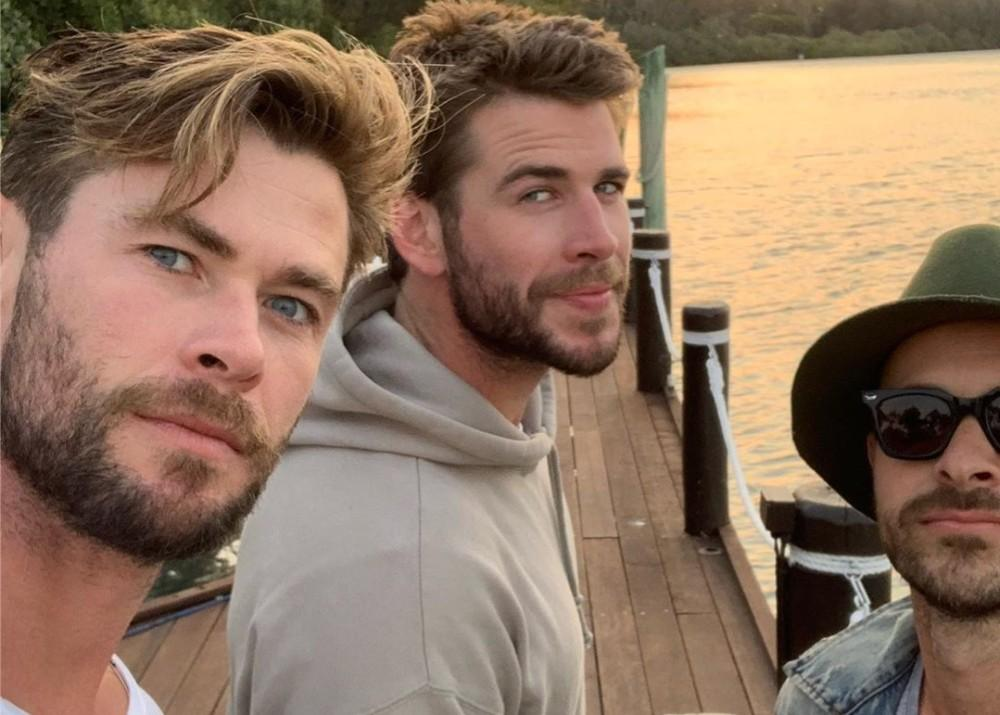 Liam Hemsworth Spends Time With His Family Including Chris Hemsworth In Australia Following Miley Cyrus Split
