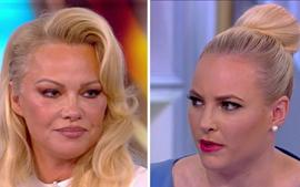 The View Co-Host Meghan McCain Clashes With Pamela Anderson In Heated Fight Over Julian Assange