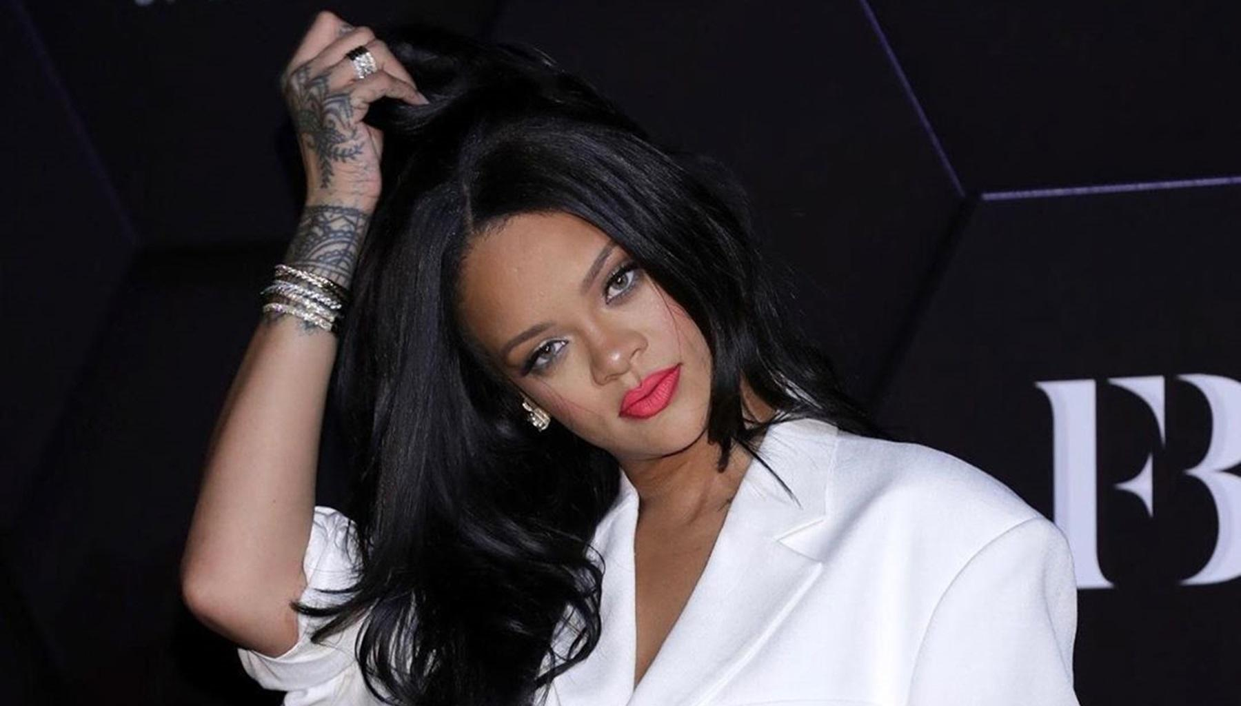 Rihanna Looks Like A Real Life Doll In Angelic White Outfit -- Pictures Of Hassan Jameel's GF Still Make Fans Think She Is Hiding Her Pregnancy