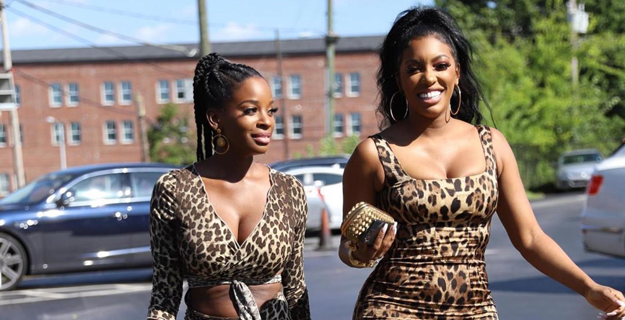 Porsha Williams And Shamea Morton Seemed To Have Taken Their Men Into Kandi Burruss's Wild Dungeon In New Video -- But Marlo Hampton Left Many Confused