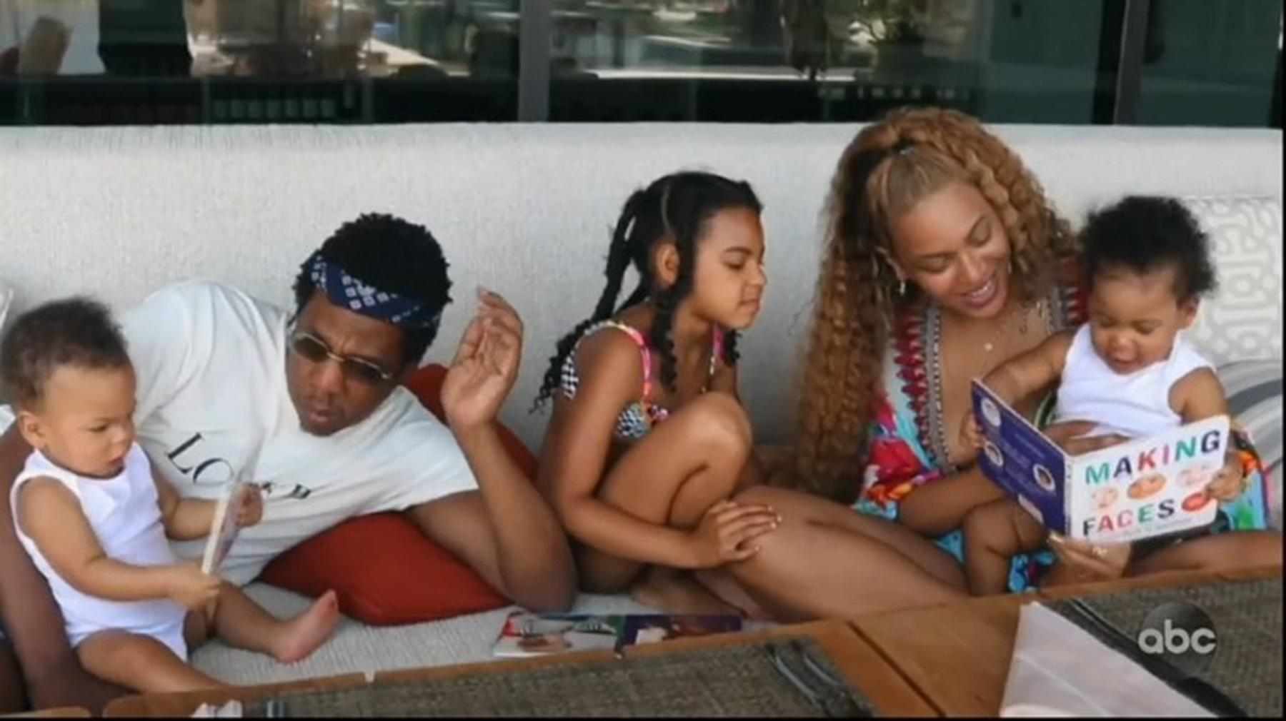Beyoncé Finally Shares Never-Before-Seen Photos And Videos Of All Of Her Three Children With Jay Z -- Fans Are Confused Because Blue Ivy And Baby Sister Rumi Carter Are Identical