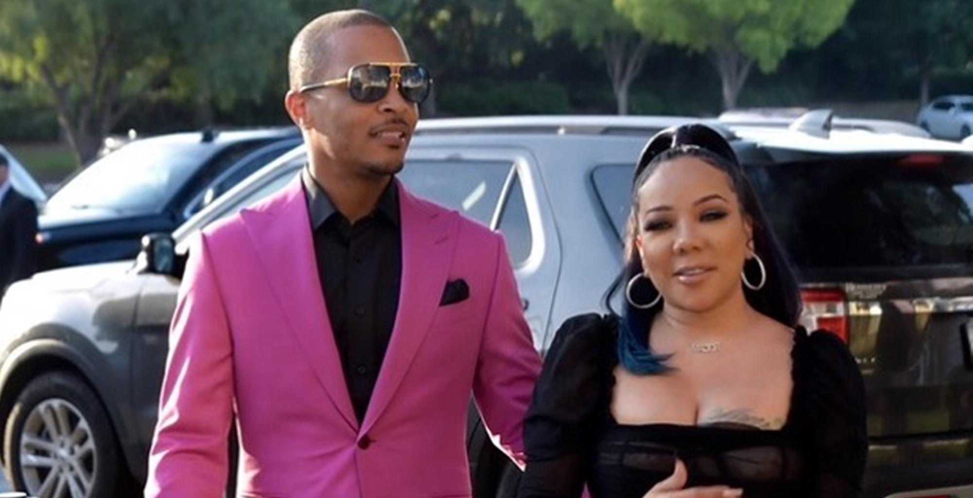 T.I. Calls Out Tiny Harris Over This Picture And Xscape Diva Expeditiously Answers Back