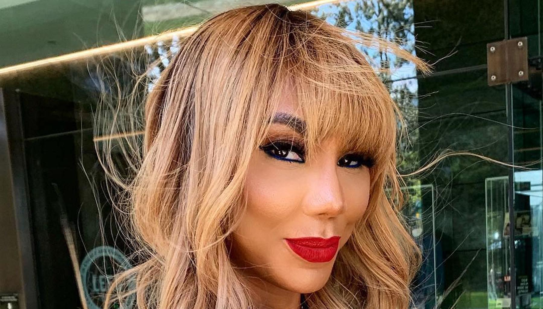 Tamar Braxton's Latest Photo In Which She's Wearing Nothing But Earrings Has People Confusing Her With Toni Braxton; David Adefeso Is In Awe - See His Romantic Comment