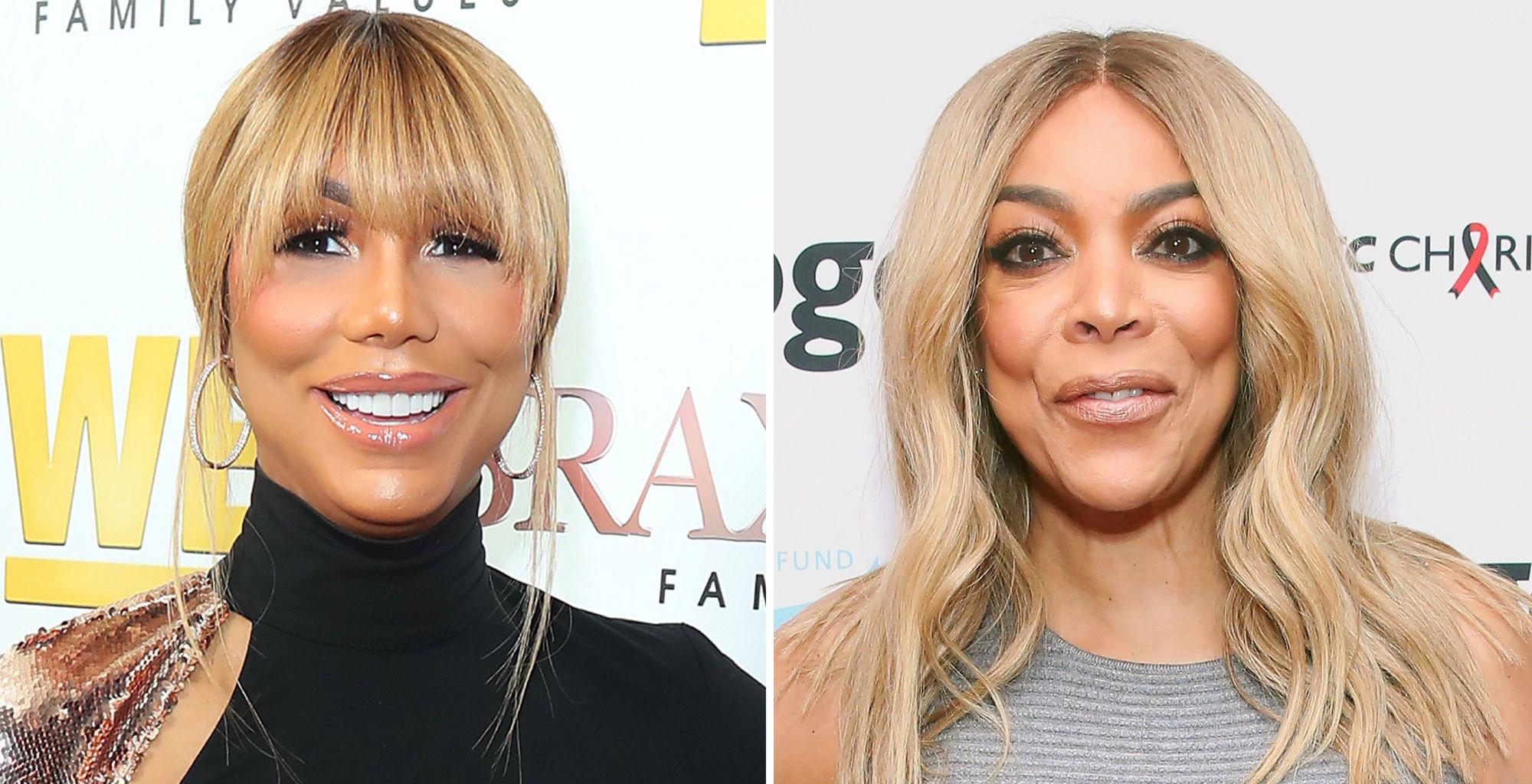 Wendy Williams' Latest Photo Gives A Glimpse Of The Shenanigans Taking Place At Her Soirée With Tamar Braxton And Nene Leakes