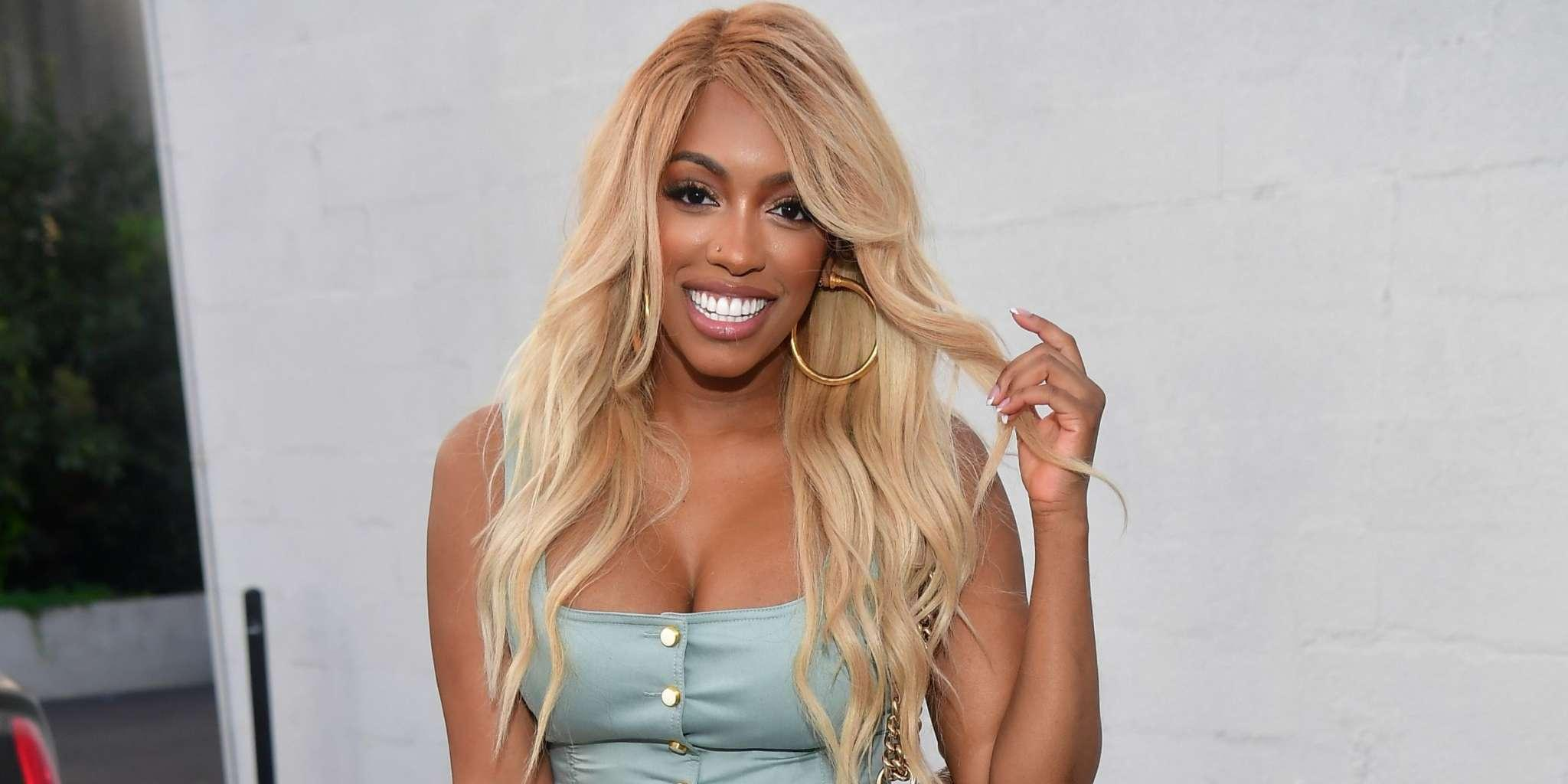 Porsha Williams Links Up With Shamea Morton And Kandi Burruss And Shows Off Her Hard Abs