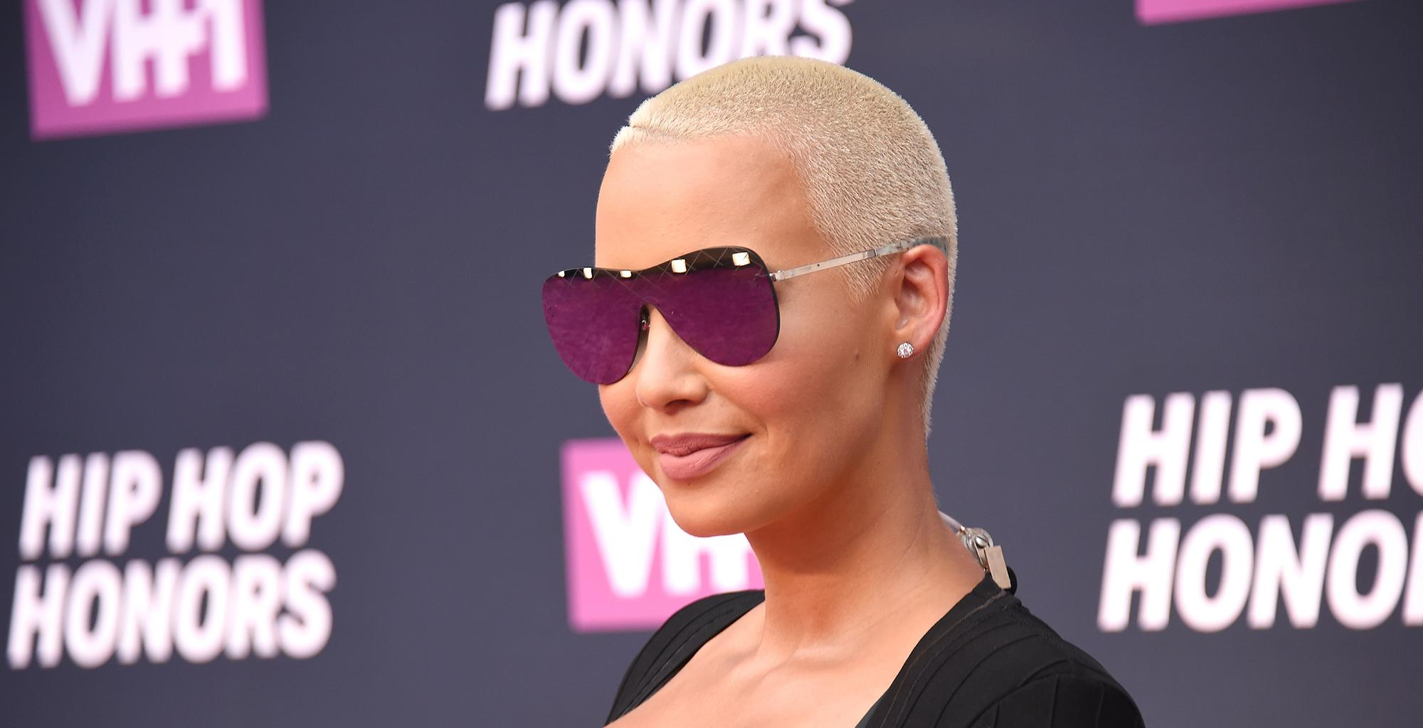 Amber Rose Updates Fans On Her Pregnancy - See The Video