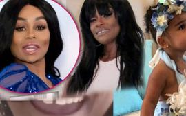 Blac Chyna Spends Quality Time With Her Kids, Dream Kardashian, King Cairo And Her Mom, Tokyo Toni - See The Happy Family Videos