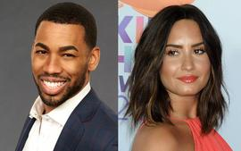 Mike Johnson Says He And Demi Lovato Are Taking Things Slow - 'No Pressure'