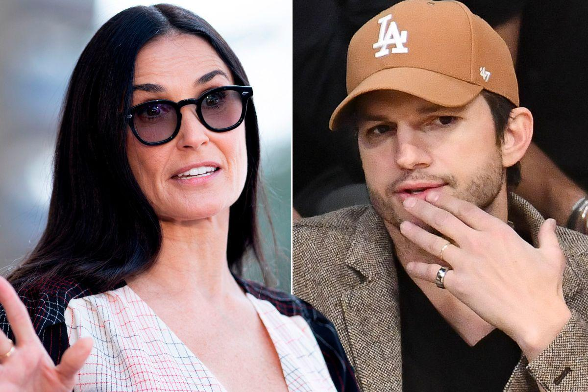Demi Moore Says She And Former Husband Ashton Kutcher 'Don't Hang Out'