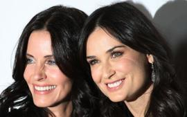 Demi Moore And Courteney Cox Look Like Twins As They Pose Together For New Pic