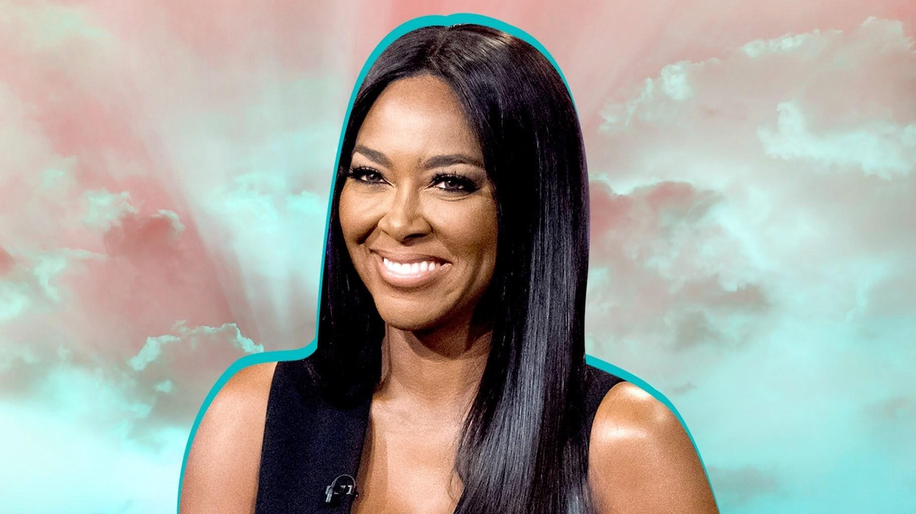 Kenya Moore Shares A Gorgeous Photo Featuring Her Happy Baby, Brooklyn Daly