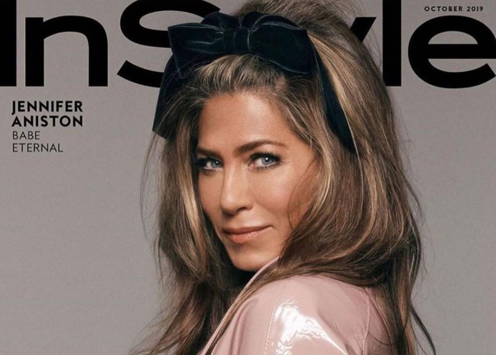 Jennifer Aniston Isn't Going To Be A Silver Sister Anytime Soon