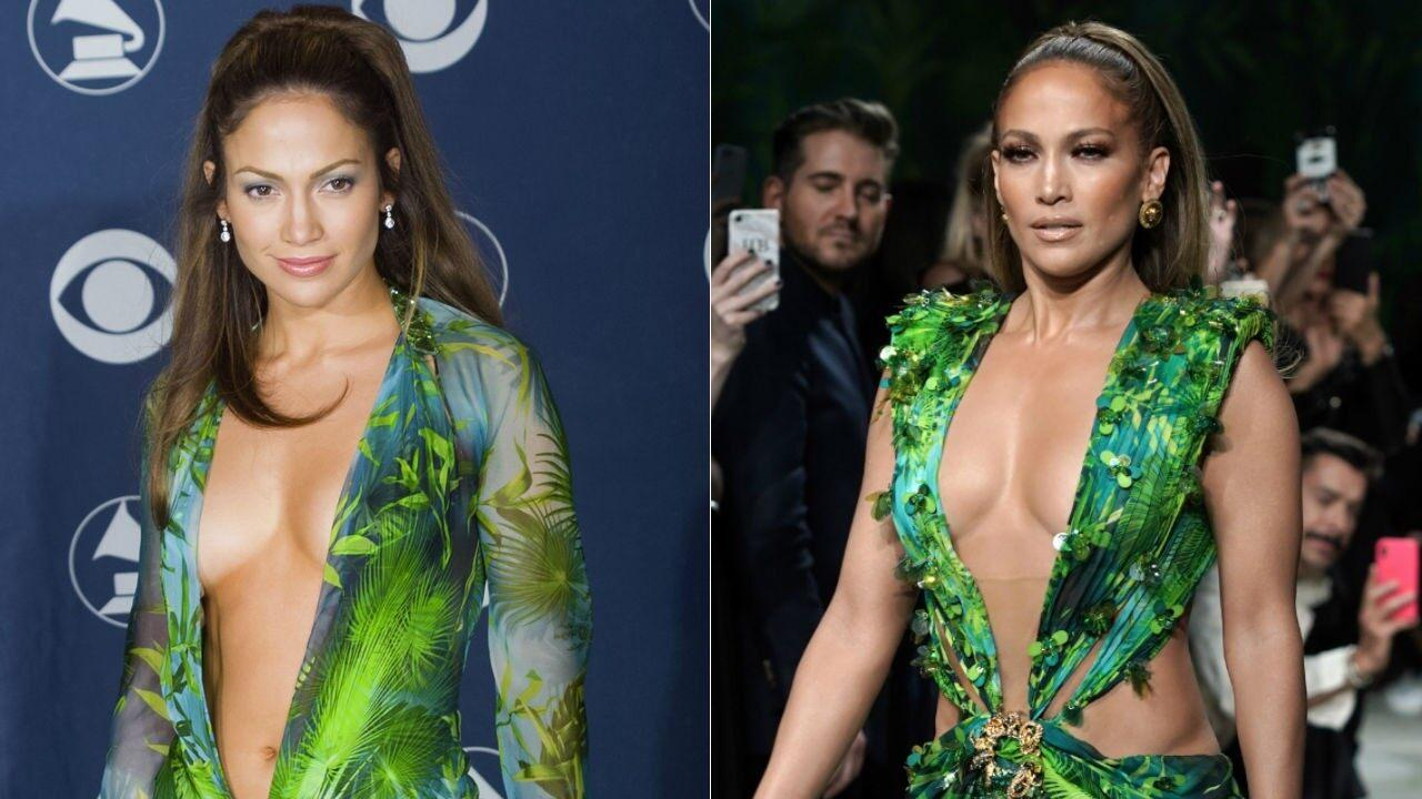 Jennifer Lopez Says She Almost Didn't Wear That Iconic Green Versace Dress At The 2000 Grammys - Here's Why!