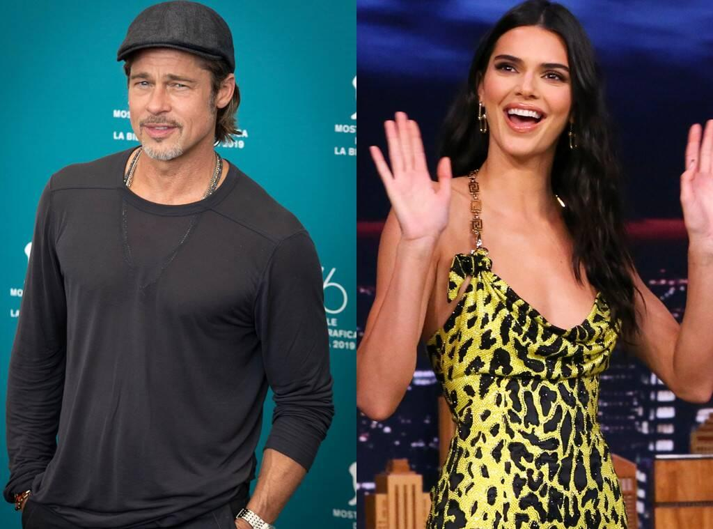 KUWK: Kendall Jenner Reveals She Was Too Nervous To Meet Brad Pitt While At Kanye West's Sunday Service So She Just Left!