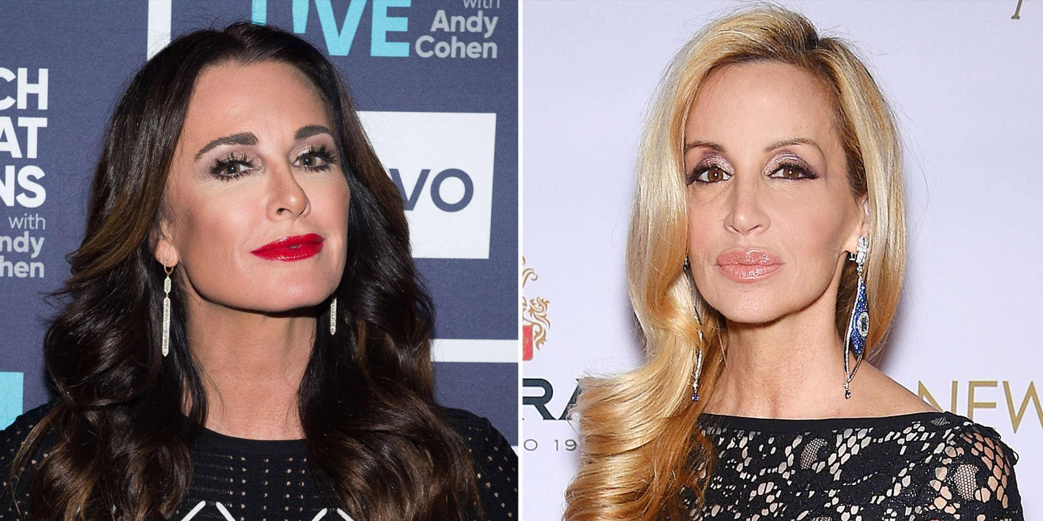 Camille Grammer Says The RHOBH Reunion Episode Would Have Been A'Dud' In Her Absence - She Shades Kyle Richards!