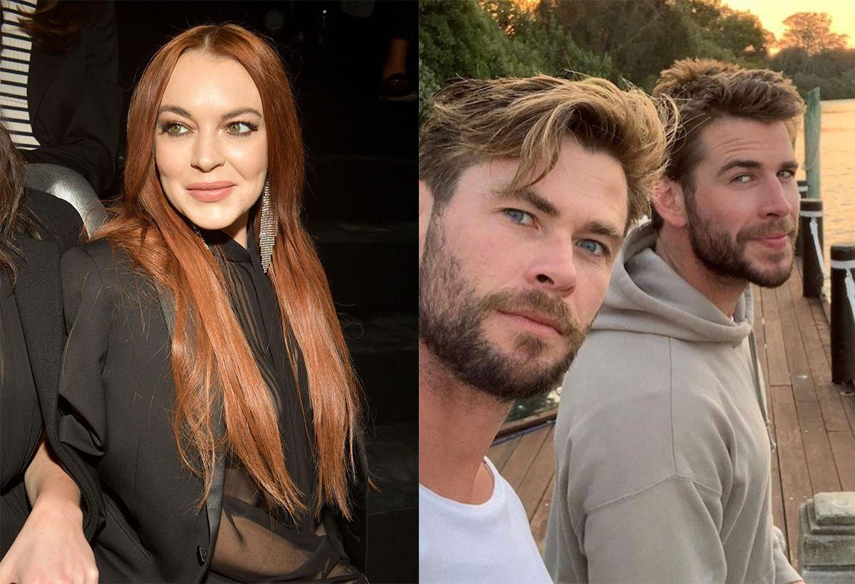 Lindsay Lohan Confirms She's Newly Single After Flirting With Liam Hemsworth