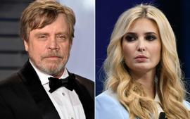 Mark Hamill Drags 'Fraud' Ivanka Trump After Post About 'The Force' Being Strong With Her Family!