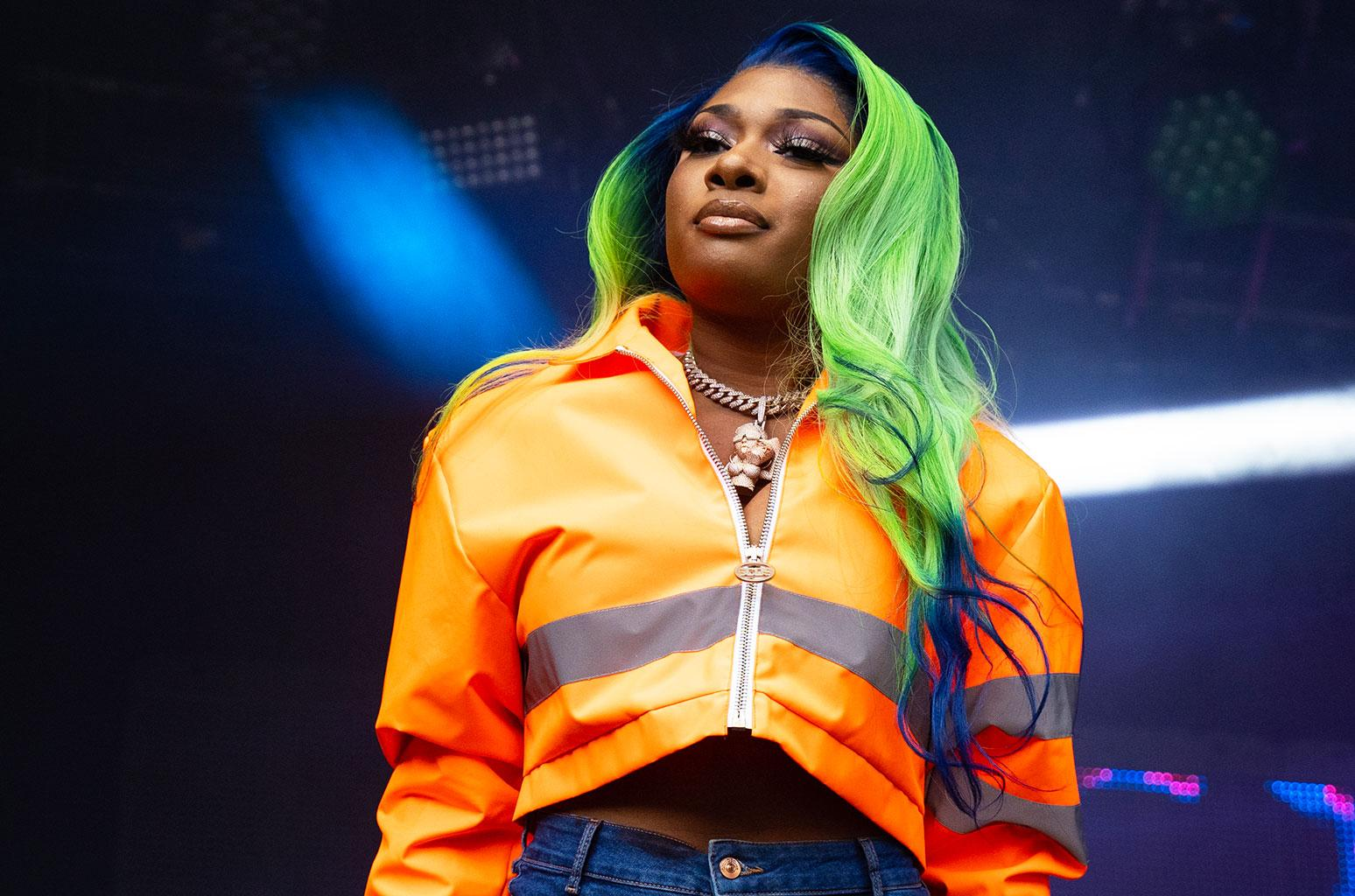 Megan Thee Stallion Reveals She Joined RocNation