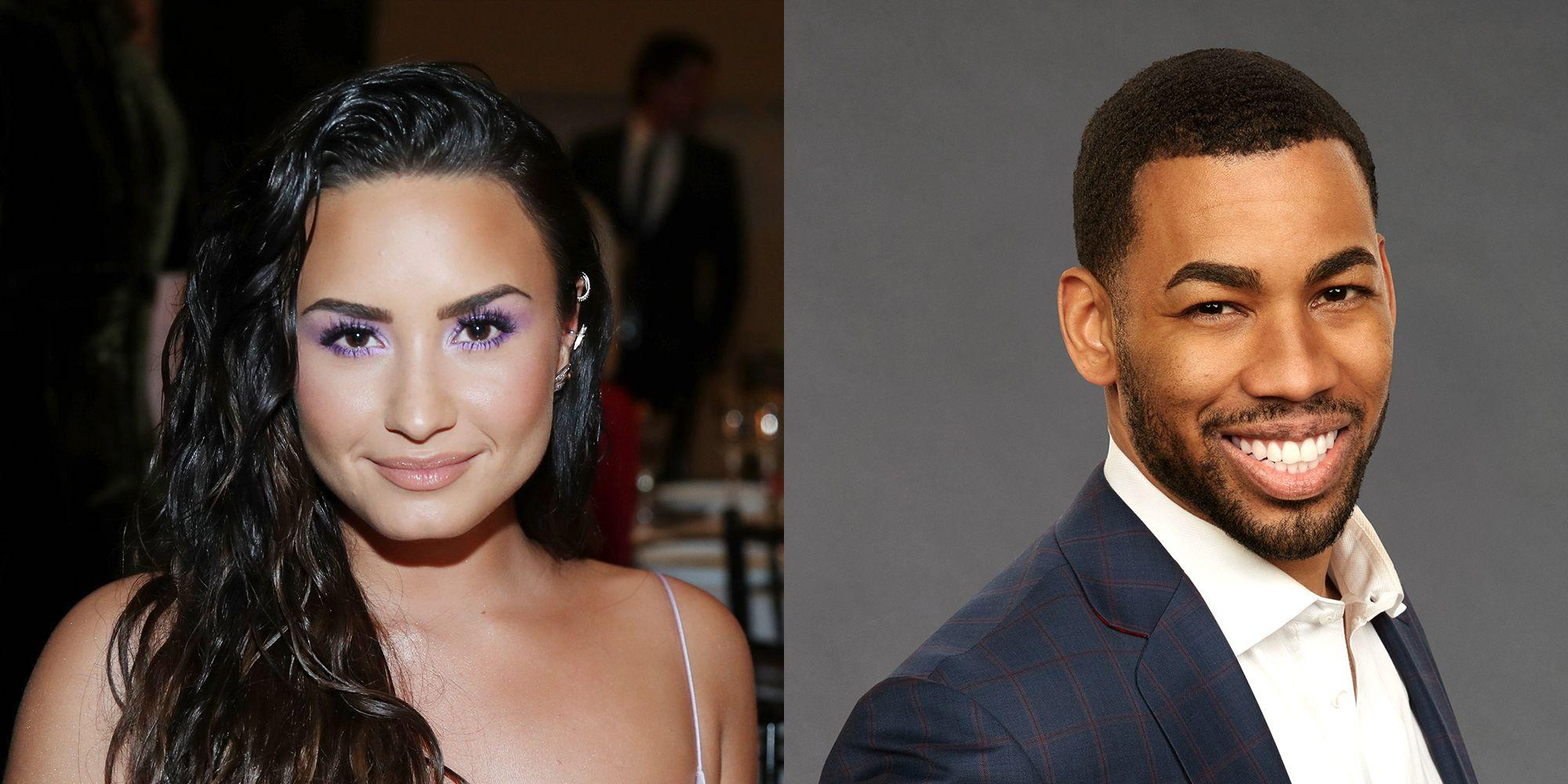 Mike Johnson Giggles When Talking About The 'Amazing' Demi Lovato - Says He Texts Her Before Bed!