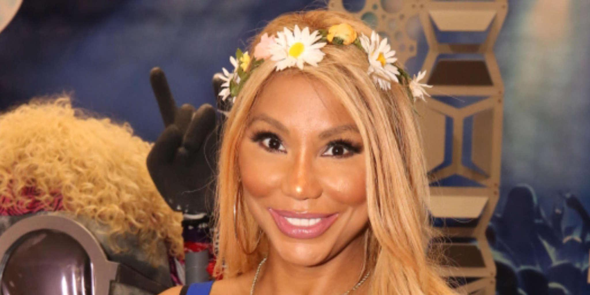 Tamar Braxton Shows Off Her Cleavage And Abs And Fans Love The Jaw-Dropping Video