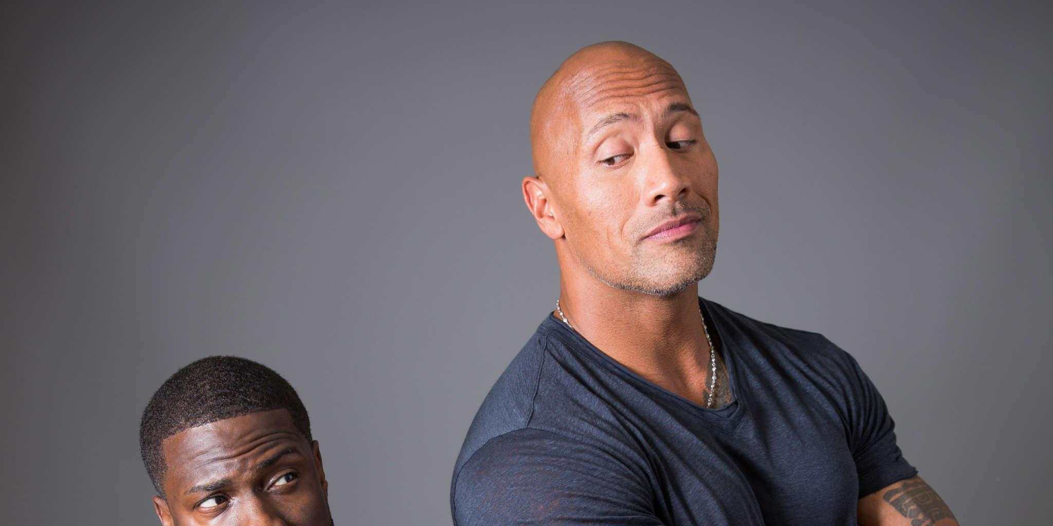 Dwayne Johnson Leaves His Honeymoon To Support Pal Kevin Hart Following His Car Accident