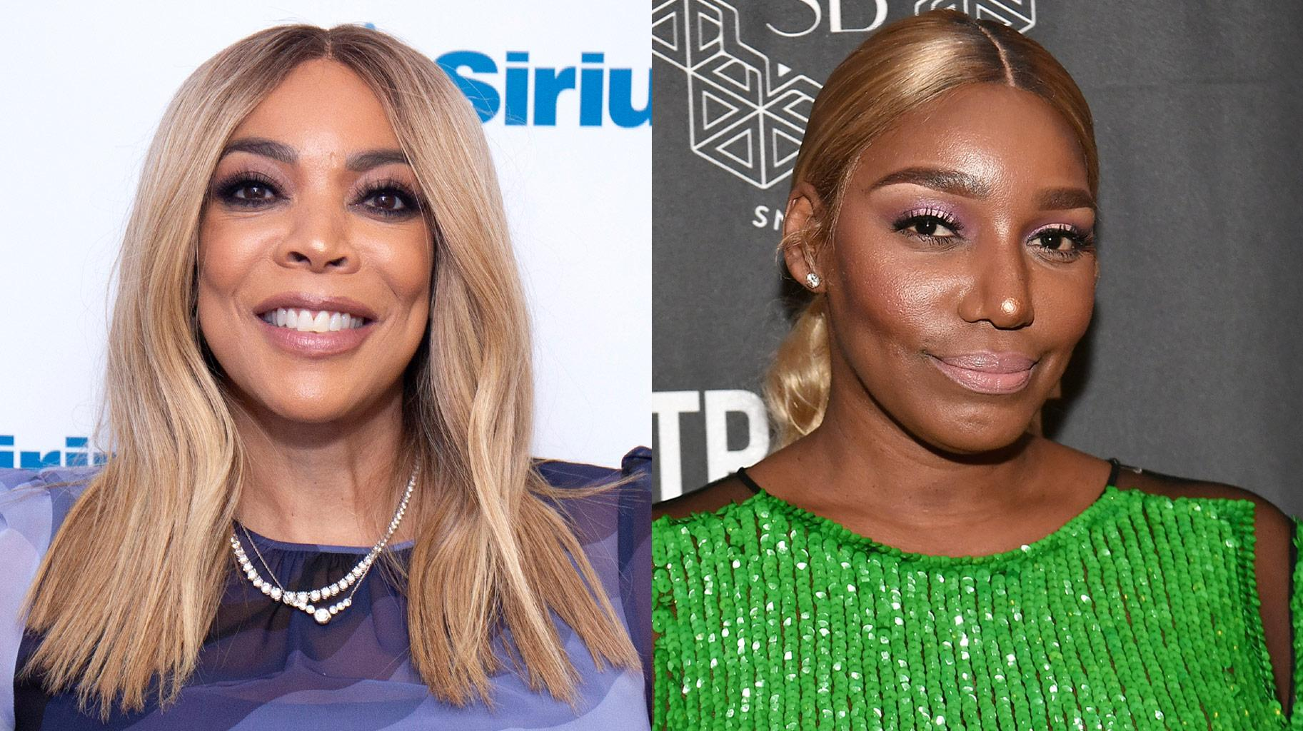 NeNe Leakes Links Up With With Wendy Williams And People Advise Wendy To Work On Her Posing Game