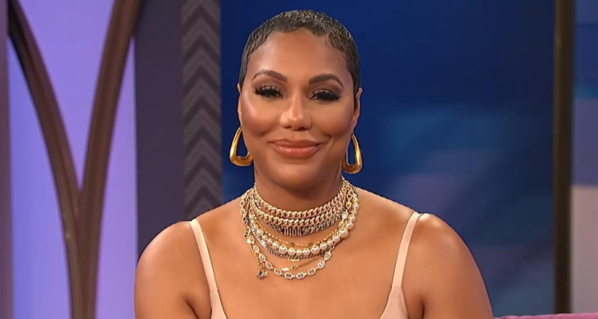 Tamar Braxton's Appearance On Wendy Williams' Show Blows Fans Away - She Is Wearing Nothing But Spanx!